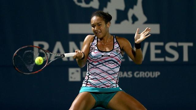 Watson off to good start  - Tennis
