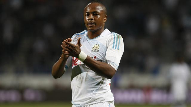 FOOTBALL 2012 Marseille - Andre Ayew