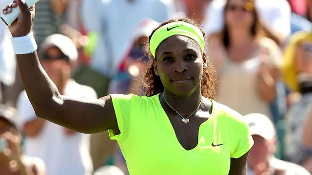 Serena charges through  - Tennis