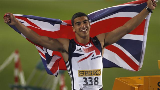 Gemili wins gold  - Athletics