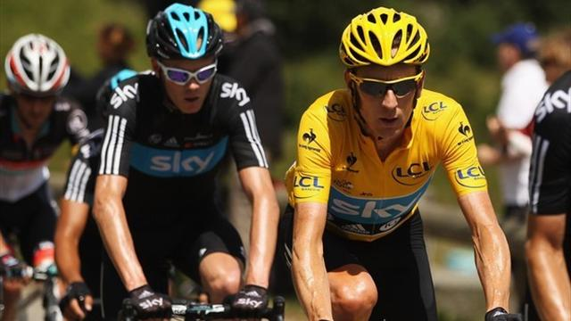 Froome and Wiggins dispute leader status