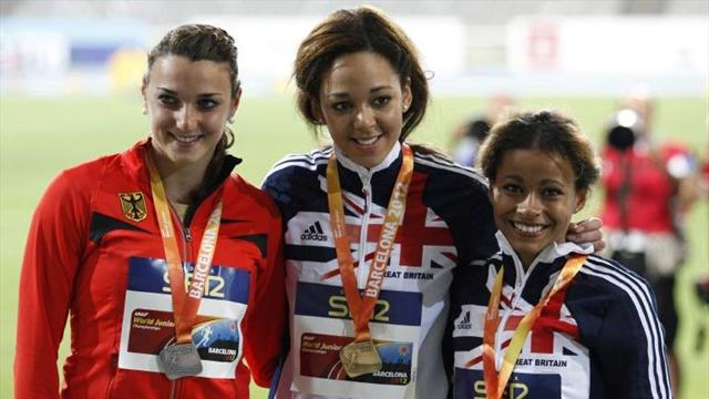 Johnson-Thompson wins gold - Athletics