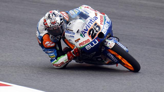 Vinales steals Moto3 pole - Motorcycling