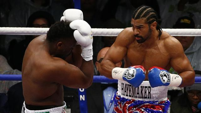 Haye finishes Chisora  - Boxing