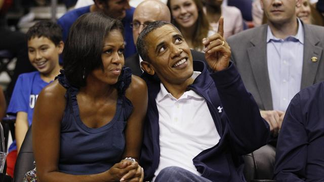 Obama partial to Olympic basketball's '92 'Dream Team'