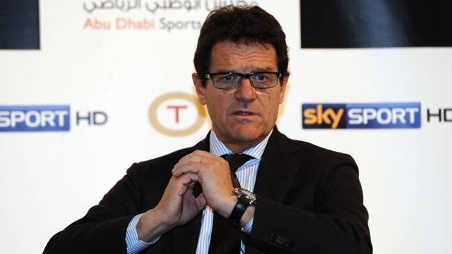 Capello signs Russia deal - Football - Euro 2012