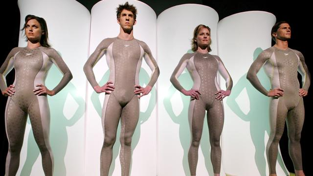 New hi-tech suits beckon - Swimming