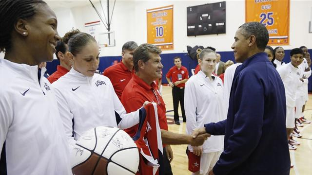US women's basketball team welcome favourites tag