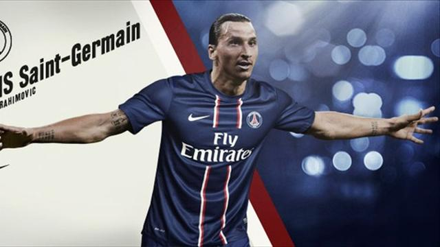 PSG confirm Zlatan coup - Football - Ligue 1