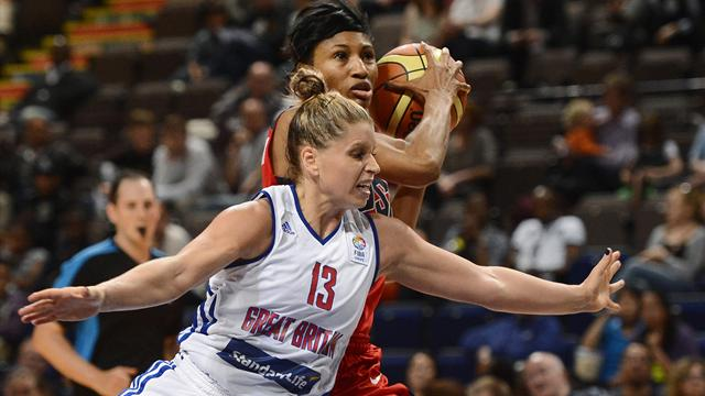 GB women lose opener - Basketball - Olympic Games