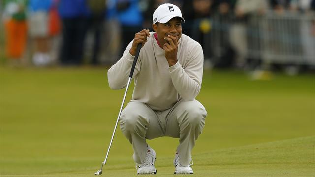 Tiger Woods öppnade starkt - Golf - The Open Championship