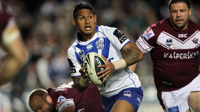 Bulldogs win grudge match - Rugby League