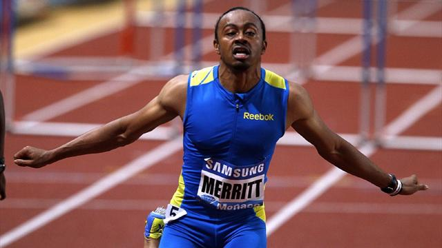 Merritt shines again - Athletics