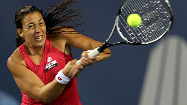 Bartoli survives scare  - Tennis