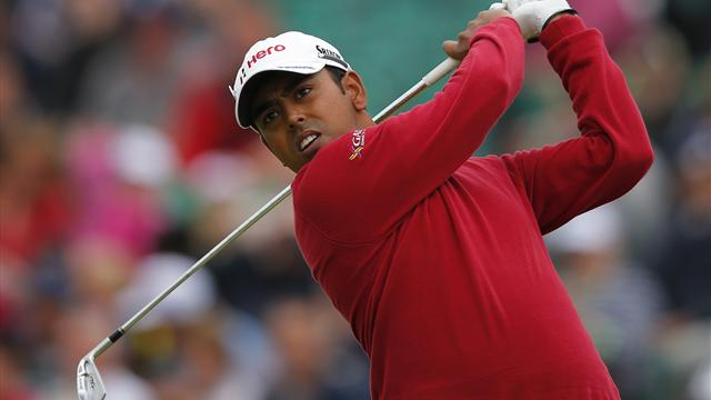 Lahiri hits hole in one - Golf - The Open