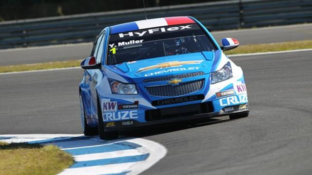 Muller still on top - WTCC