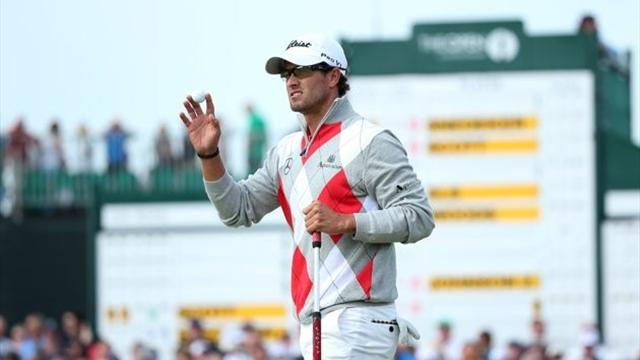 Scott charges clear  - Golf - The Open