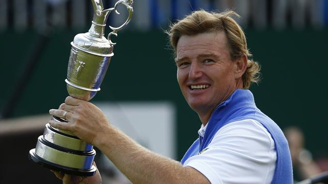 Ernie Els vann Open - Golf - The Open Championship