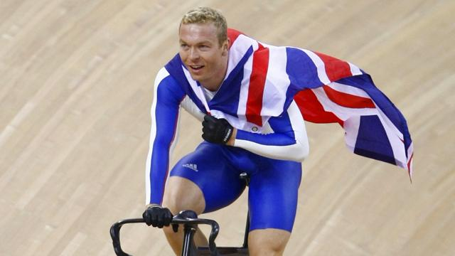Hoy picked as British flag-bearer