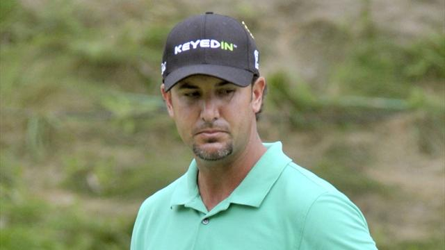 Piercy sets course record for Canadian Open lead