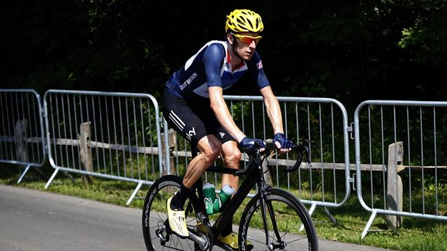 GB confident in saddle - Cycling