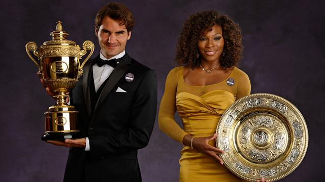 Federer and Williams return to scene of Wimbledon wins