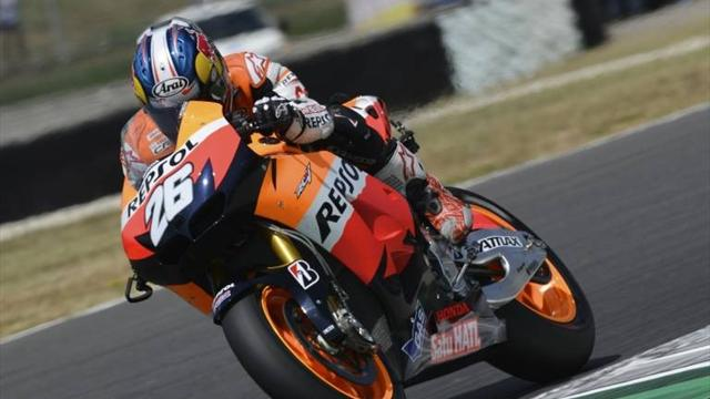 Pedrosa fastest at Laguna Seca
