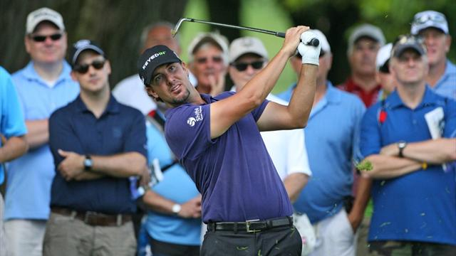 Piercy shares lead, Els misses cut