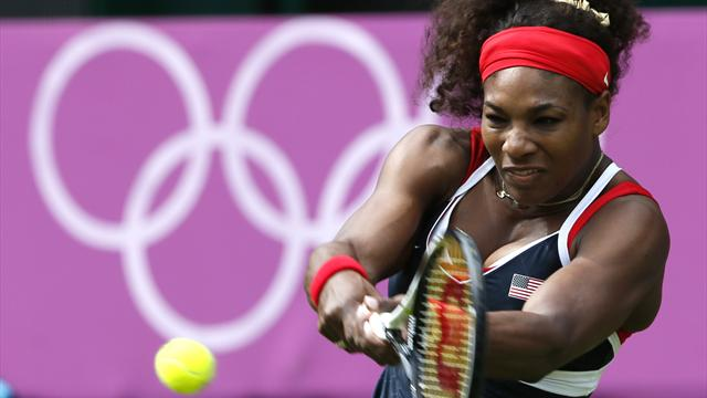 Serena spars with reporter - Tennis - US Open