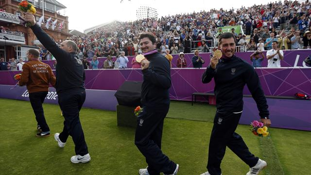 Italy win men's team gold - Archery - Olympic Games