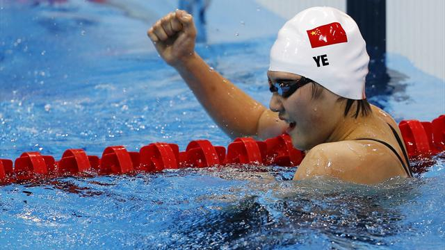 Ye wins 400m medley gold - Swimming - Olympic Games