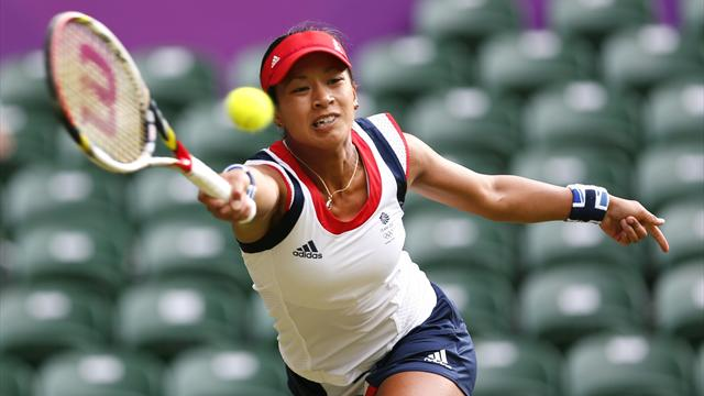 Mixed fortunes for Team GB - Tennis - Olympic Games women