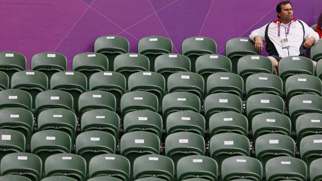 Probe into empty seats - Olympic Games
