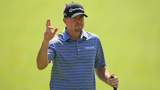 Garrigus grabs slender lead at Canadian Open