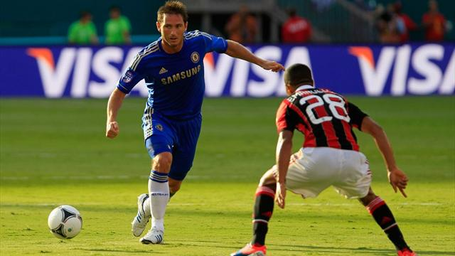 Chelsea beaten by Milan - Football - Premier League