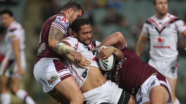 Manly to sweat on tackle - Rugby League