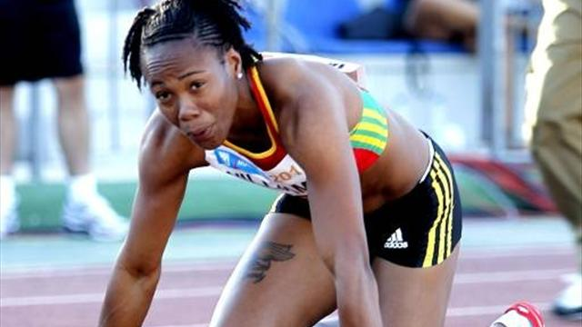 Sprinter out of Olympics for banned drug use