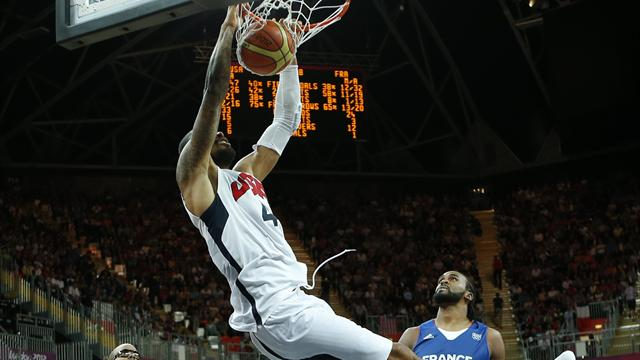 US basketball men begin Olympic defence in style