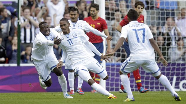 Spain dumped out  - Football - Olympic Games