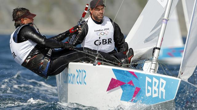 GB duo recover from slow start in Olympic Star sailing