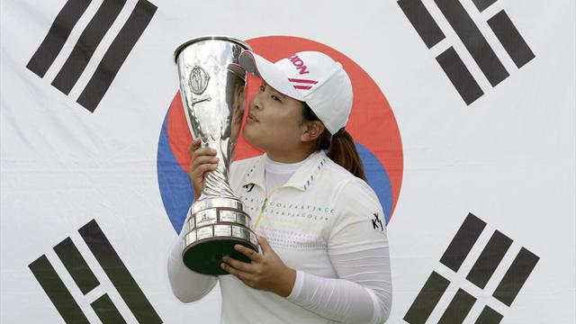 Park wraps up Evian Masters win