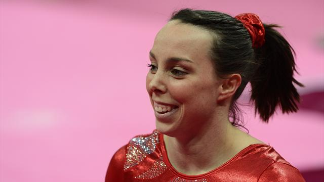 Wieber stunned, Tweddle shines in gymnastics qualifying