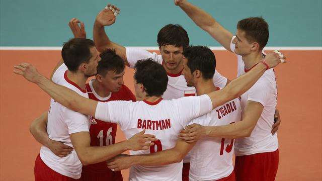 Poland shine in Olympic volleyball opener