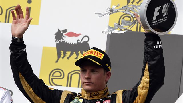 Raikkonen, Lotus 'now a threat' for 2012 titles