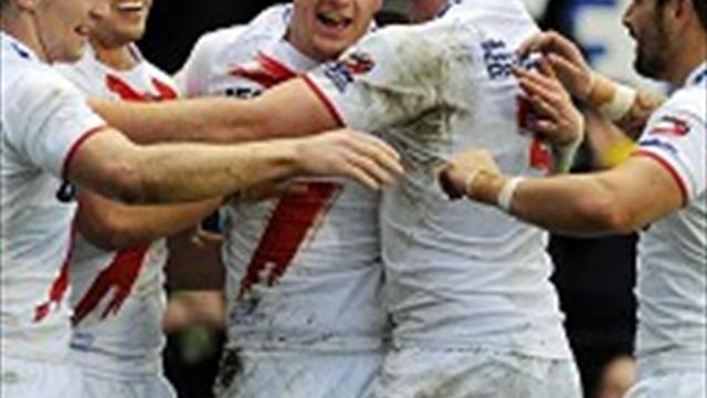 England stay third in - Rugby League