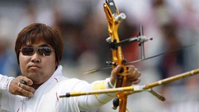 Dong-hyun avoids giant-killing in Olympic archery