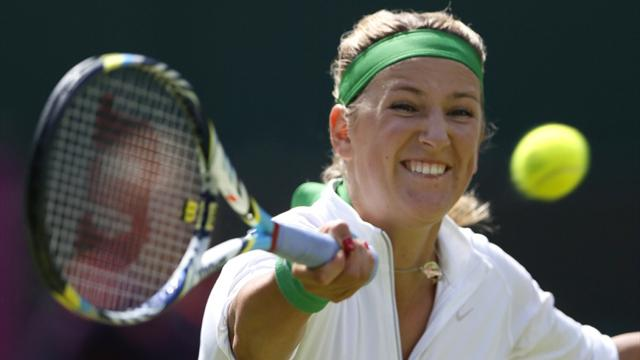 Top seeds Azarenka, Federer progress at Olympics
