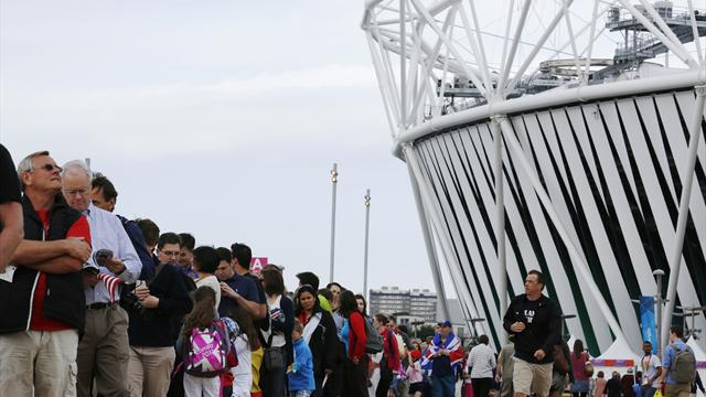 Extra 'recycled' event tickets available for Olympic Park visitors