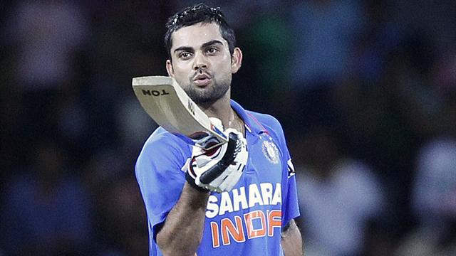 Kohli leads India to victory