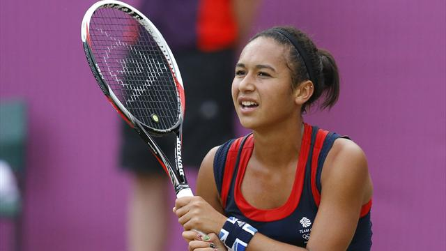 Robson and Watson go out in Olympics singles